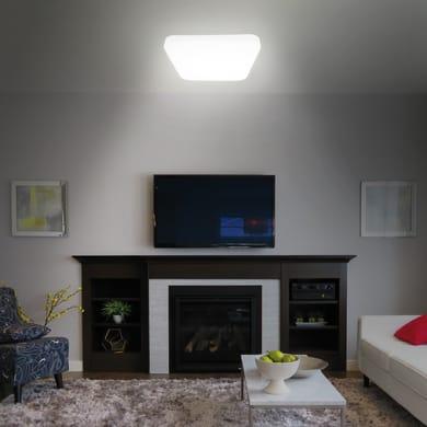 Plafoniera moderno Mimas LED integrato bianco25x25 cm,