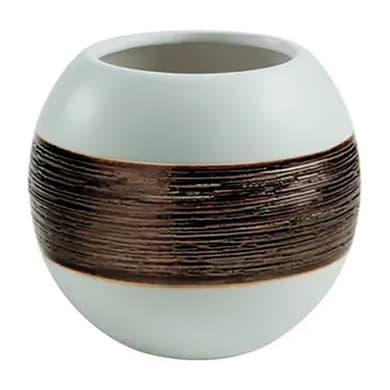 Porta spazzolini  G-Alexia in ceramica bianco GEDY