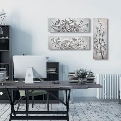 Dipinto originale Fiori 30x90 cm