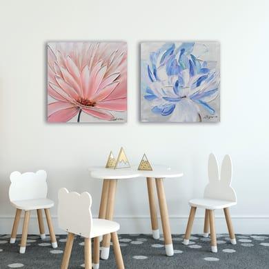 Dipinto originale Fiori 60x60 cm