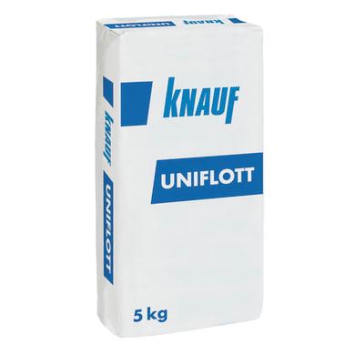 Stucco in polvere KNAUF Uniflott 5 kg beige