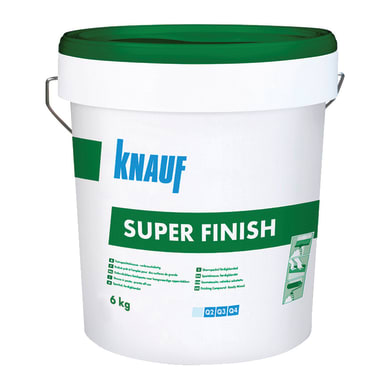 Stucco in polvere KNAUF Superfinish 6 kg