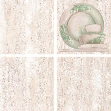 Decoro Arena L 20 x H 20 cm beige chiaro