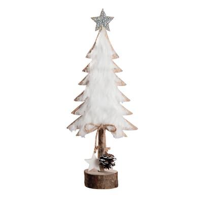 Albero di Natale in legno , L 14 cm  x P 7 cm