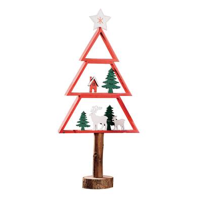 Albero di Natale in legno , L 22 cm  x P 8 cm