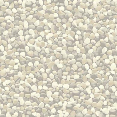 Pavimento pvc in rotolo Sassi , Sp 2.6 mm grigio