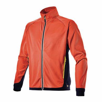 Felpa DIADORA Sweat FZ Trail Tg XL rosso