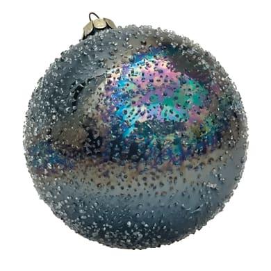 Sfera natalizia in vetro Ø 12 cm