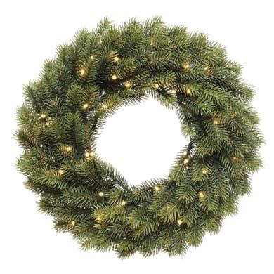Corona di natale verde Ø 40 cm