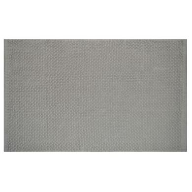 Tappeto bagno rettangolare Bubble in 100% cotone beige 80 x 50 cm