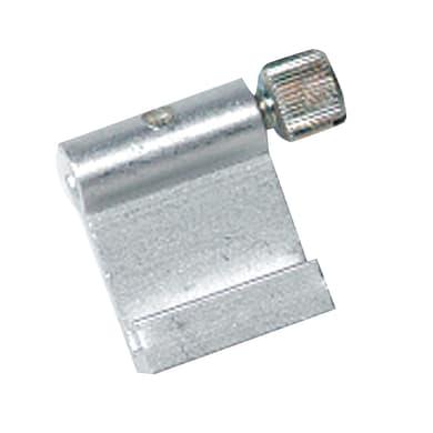 Gancio binario per cornice in acciaio
