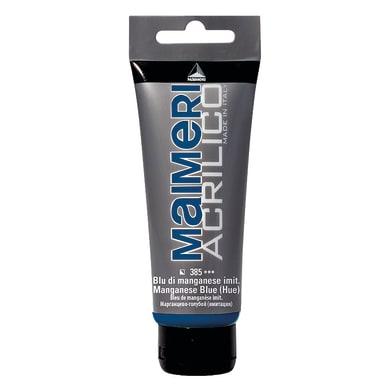 Colore acrilico MAIMERI   0.75 L blu manganese