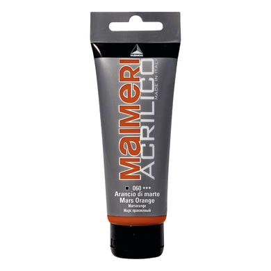 Colore acrilico MAIMERI   0.75 L arancio di marte