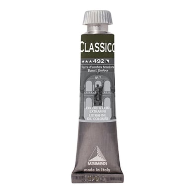 Colore a olio MAIMERI Classico 0.2 L terra d ombra bruciata