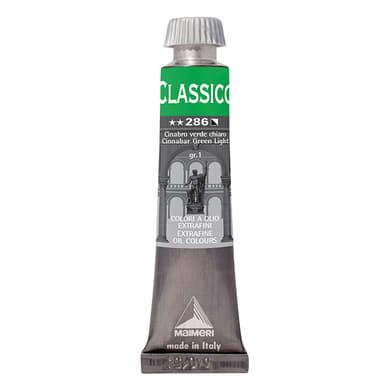 Colore a olio MAIMERI Classico 0.2 L cinabro verde chiaro