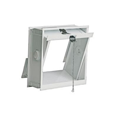 Finestra del blocco di vetro 1 vetro liscio L 23 x H 21.6 x Sp 8.8 cm