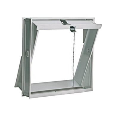 Telaio basculante 4 vetri liscio L 42.6 x H 41.4 x Sp 8.8 cm
