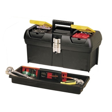 Cassetta attrezzi STANLEY L 32.2 x H 13.5 cm, profondità 177 mm