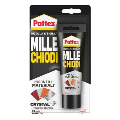 Colla di montaggio MilleChiodi Crystal PATTEX trasparente 90 g
