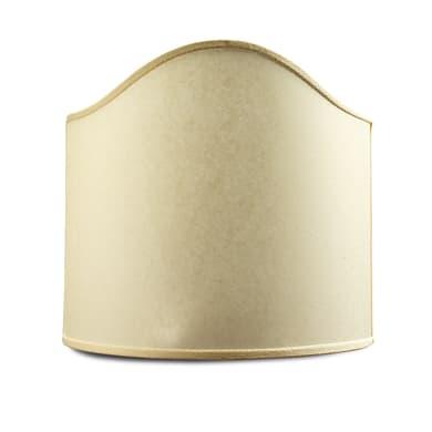 Paralume per lampada da comodino personalizzabile  Ø 13 cm beige in carta Inspire