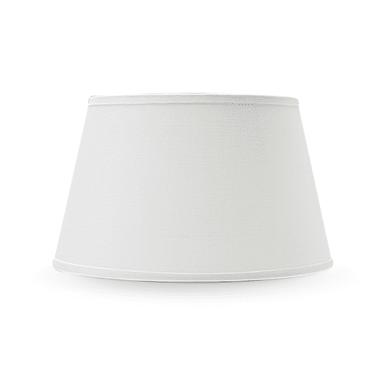 Paralume per lampada da tavolo personalizzabile  Ø 21 cm bianco avorio in teletta Inspire