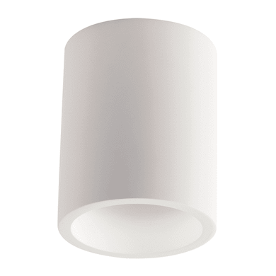 Plafoniera Banje bianco, in gesso, GU10 MAX35W IP20