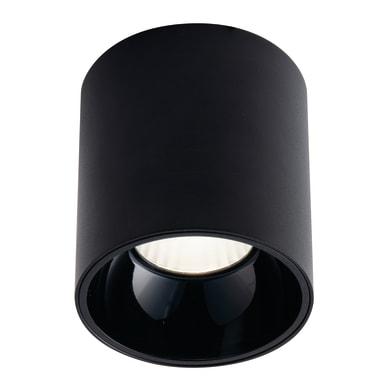 Plafoniera design Mig LED integrato nero, in acrilico,  D. 11.4 cm