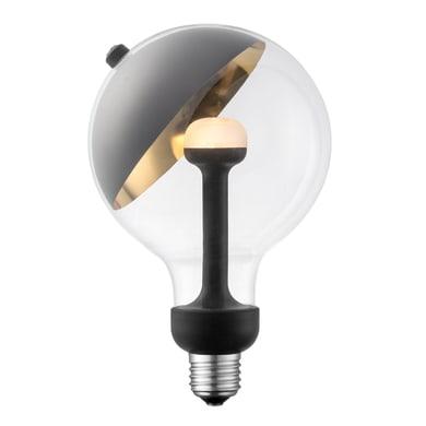 Lampadina decorativa LED, Move Me, E27, Globo, Trasparente, Luce calda, 5W=450LM (equiv 5 W), 320°