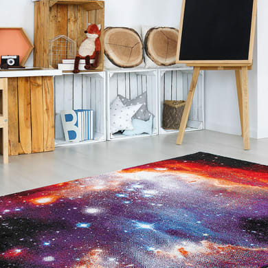 Tappeto Space a , colori assortiti, 160x230 cm