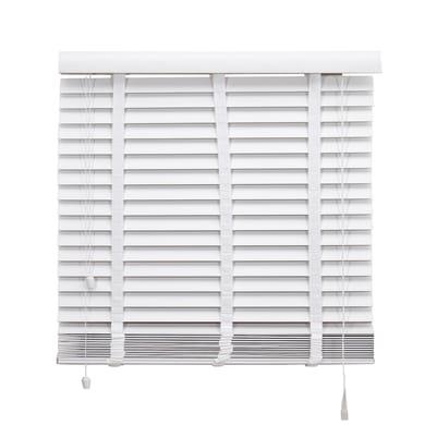 Tenda veneziana verticale Effetto legno in pvc, bianco, 68x175 cm