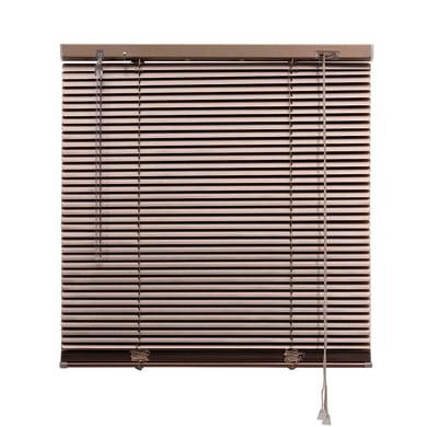 Tenda veneziana verticale New York in alluminio, oro platino, 90x175 cm