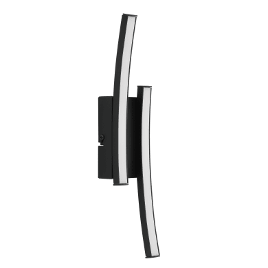 Applique Beryl nero, in alluminio, 6.5x6 cm, LED integrato 20W 300LM IP20 INSPIRE