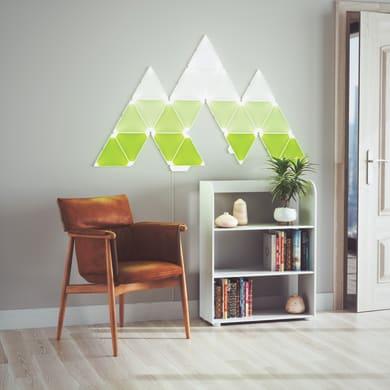 Pannello led Kit espansione 3 Light Panels 29x25 cm Ø 0 cm, colore cangiante<multisep/>bianco, 300 lumenLM NANOLEAF