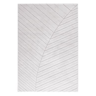 Tappeto Handcarved c grigio 133x190 cm