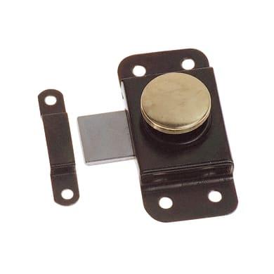 Chiavistello sovrapposto STANDERS in acciaio L 55 x H 20 mm
