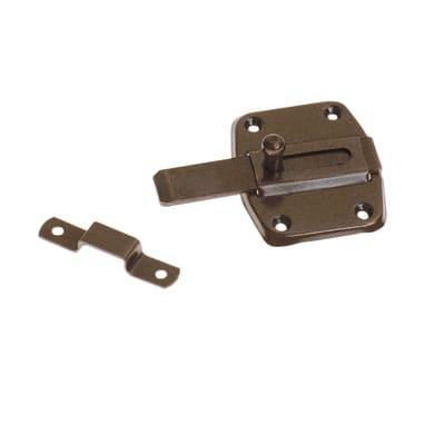 Chiavistello sovrapposto STANDERS in acciaio L 60 x H 50 mm