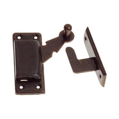 Chiavistello sovrapposto STANDERS in acciaio L 70 x H 10 mm