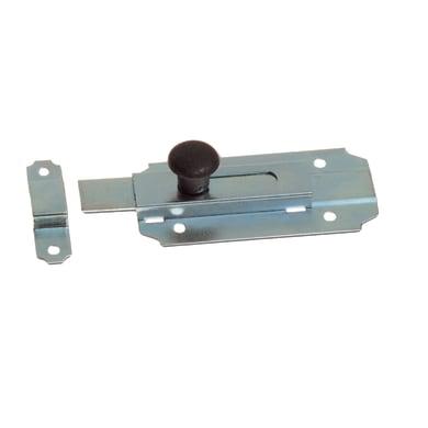 Chiavistello sovrapposto in acciaio L 64 x H 40 mm