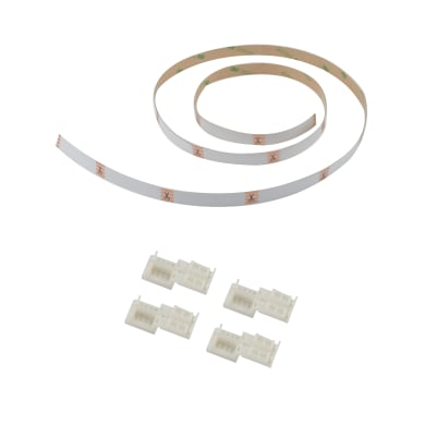 Connettore led strip, bianco, 1 m