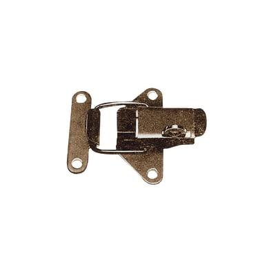Chiusura acciaio nichelato L 4.2 cm Sp 1.8 cm