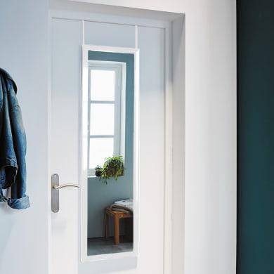 Specchio a parete rettangolare Door bianco 30x120 cm INSPIRE
