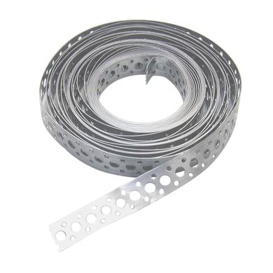 Lastra forata STANDERS in acciaio zincato L 1000 x Sp 0.7 x H 17 mm