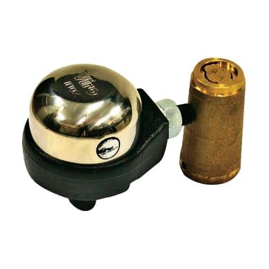 Serratura per porta garage GRUPPO FISSAGGIO 1/2 SFERA + ACC. L 85 x H  10 mm interasse 0 mm