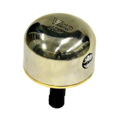 Serratura per porta garage GRUPPO FISSAGGIO 1/2 SFERA L 75 x H  10 mm interasse 0 mm