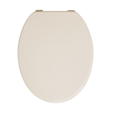 Copriwater ovale Ovale Universale mdf champagne