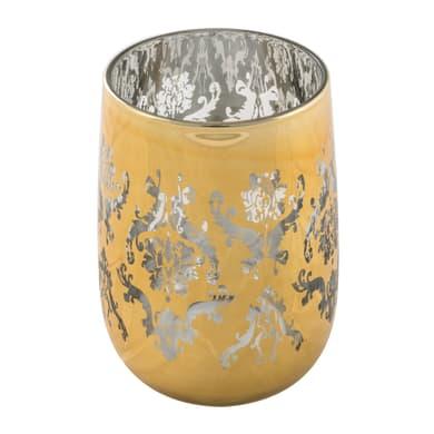 Bicchiere porta spazzolini Rialto in cristallo oro