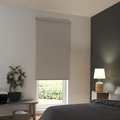 Tenda a rullo INSPIRE Tokyo oscurante beige 150x250 cm