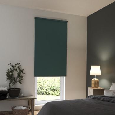 Tenda a rullo INSPIRE Tokyo oscurante verde 60x250 cm