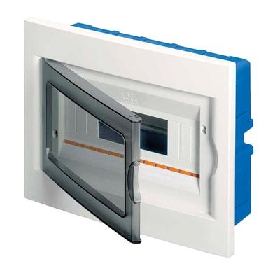 Quadro elettrico vuoto a incasso 12 moduli IP20 bianco