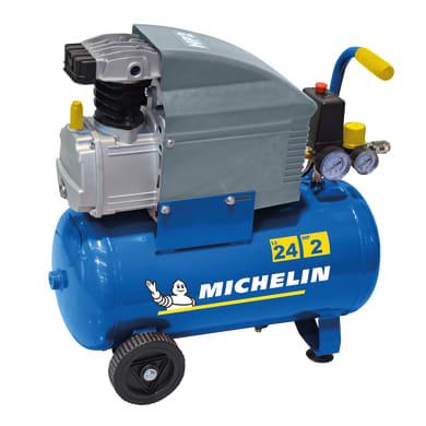 Compressore ad olio MICHELIN MB2420 2 hp 8 bar 24 L